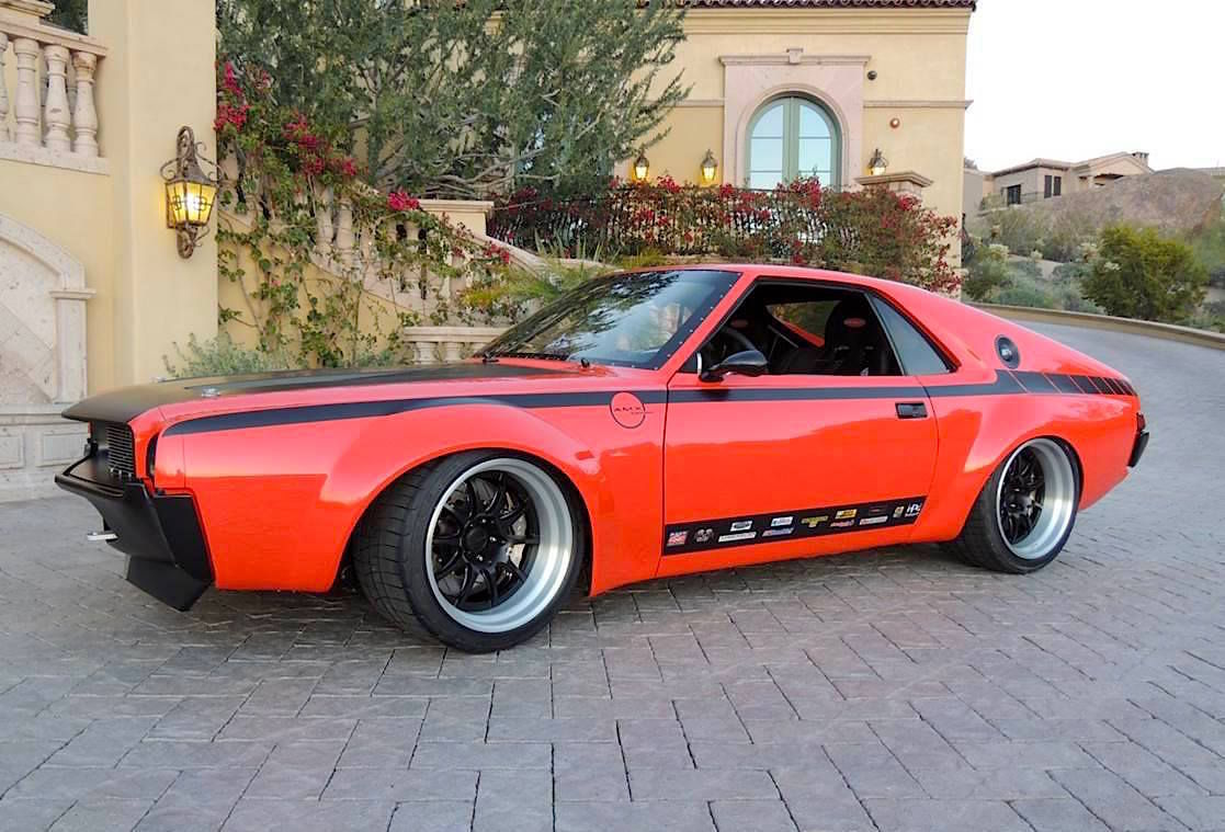 1968   | Bob Gawlik's Pro-Touring LS7-Powered 1968 American Motors AMX on Forgeline GZ3R Wheels