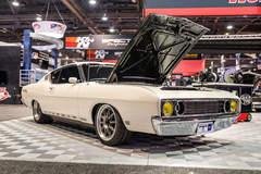 Tom Bailey's Sled Alley Twin Turbo '69 Ford Torino Talladega on Center Locking Forgeline GZ3 Wheels