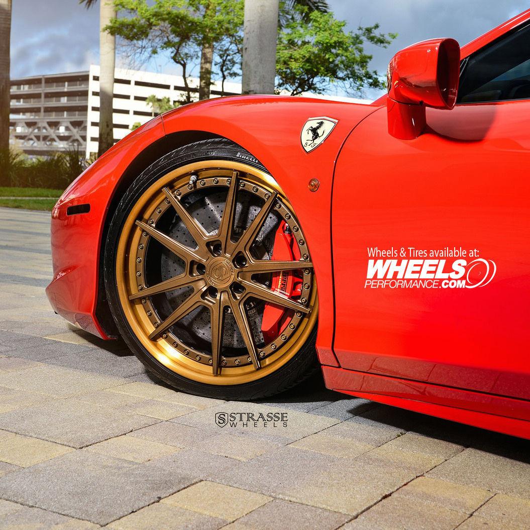 Ferrari 458 Italia   Strasse Forged SV1-FS
