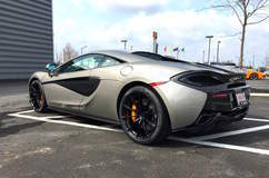 McLaren 570S on Pirelli Trofeo R Tires and Forgeline One Piece Forged Monoblock GT1 5-Lug Wheels!