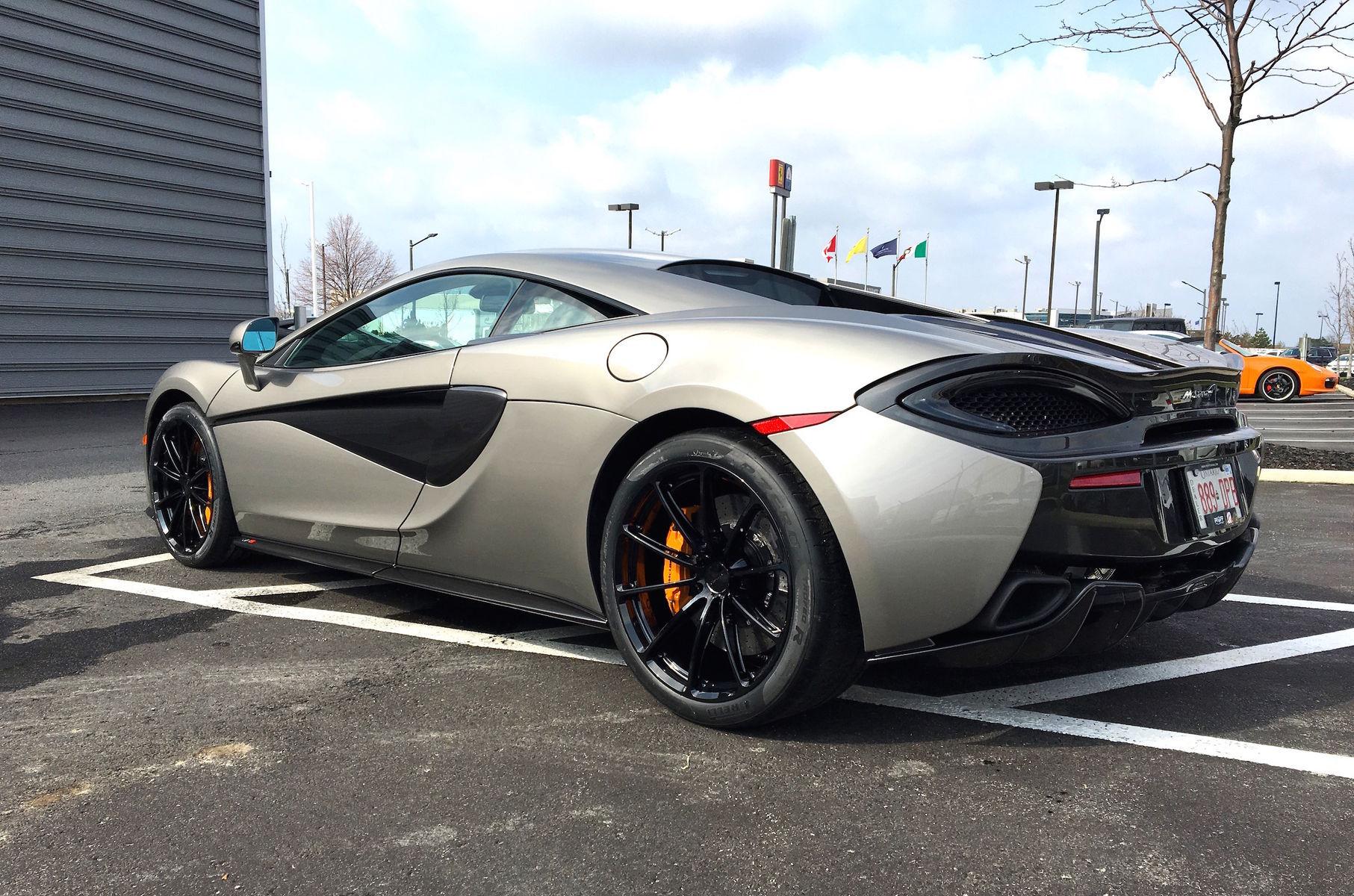 2016 McLaren    McLaren 570S on Pirelli Trofeo R Tires and Forgeline One Piece Forged Monoblock GT1 5-Lug Wheels!