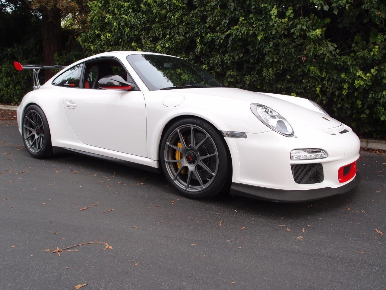 2011 Porsche 911 | Sharkwerks Porsche GT3RS on Center Locking Forgeline One Piece Forged Monoblock GA1R Wheels