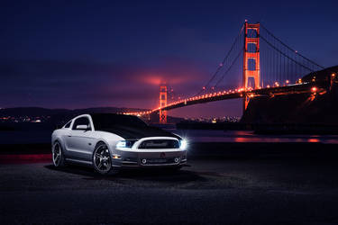Ford Mustang Luxury 5 Split Concave