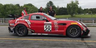 Pirelli World Challenge GTS Pro-Am Winners at Lime Rock Park