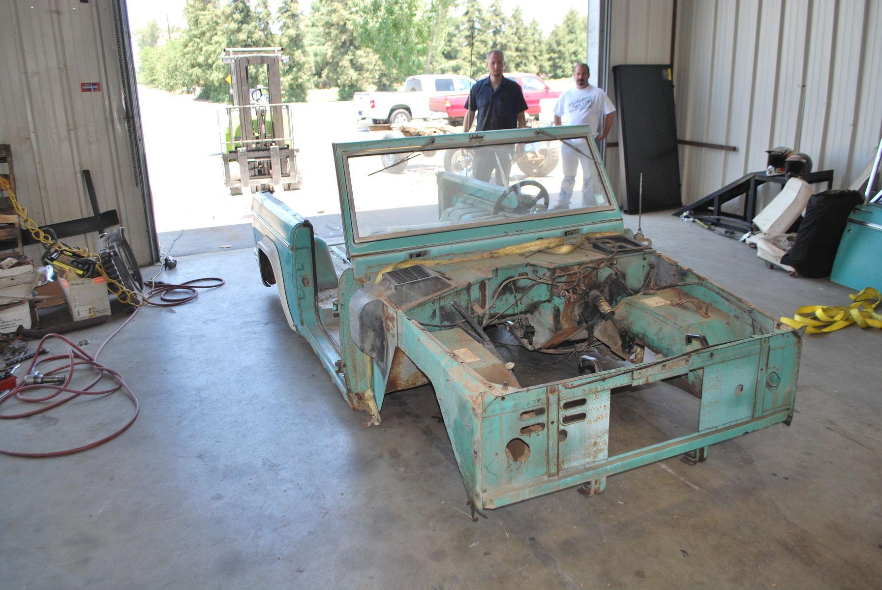 1968 Ford Bronco | Deconstruction