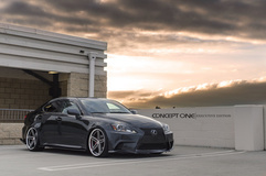 '13 Lexus IS250 on Concept One CS55's