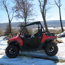 2014 Polaris  | Blingstar Suicide Black Doors Polaris RZR