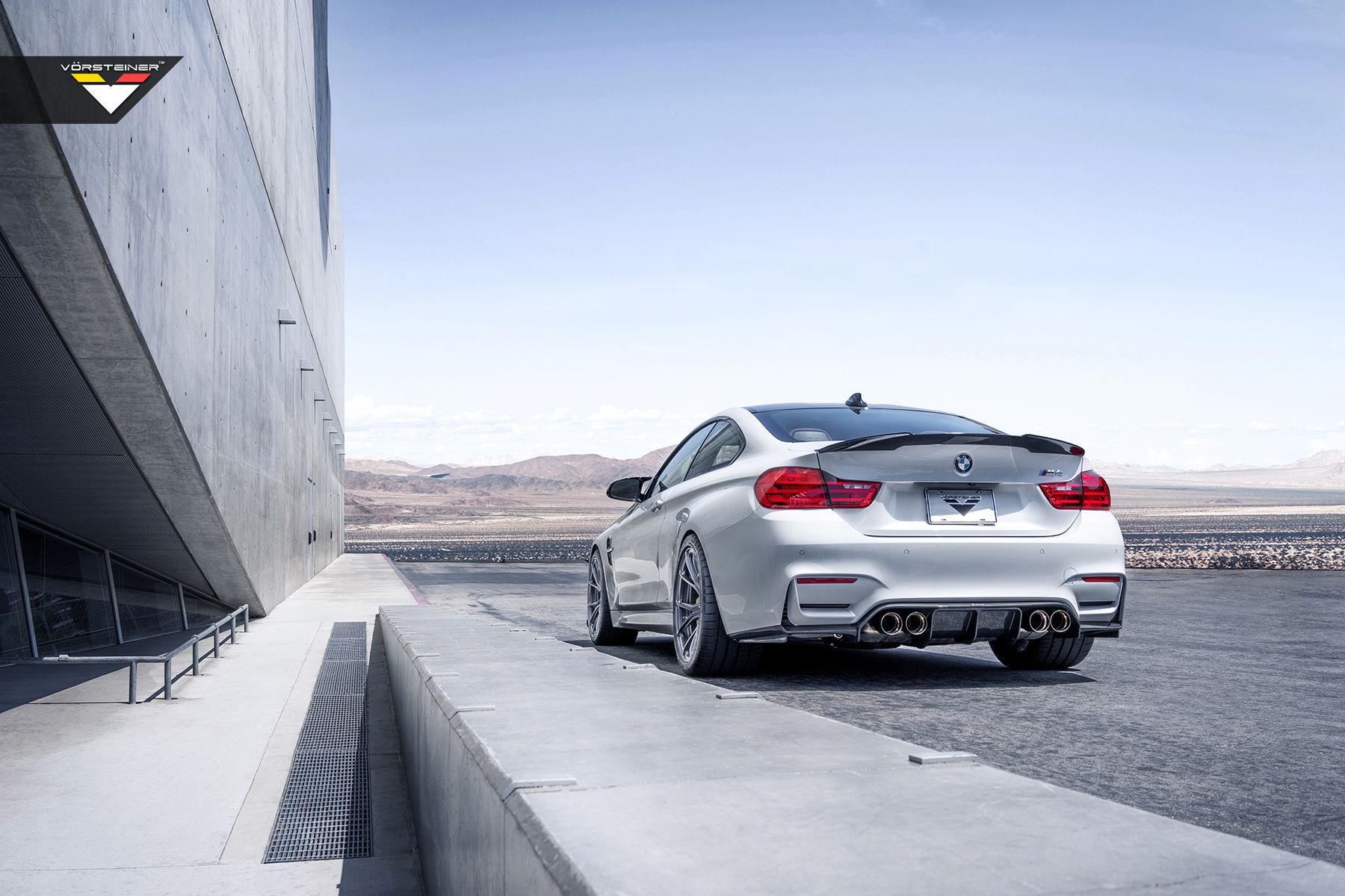 | BMW F82 M4 With Vorsteiner EVO Aero And Flow Forged Wheels