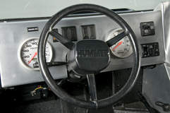 RCH Designs Custom Built Hummer H1 - Driver Steering Wheel