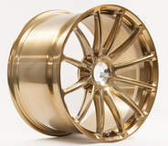 Forgeline GT1 Centerlock in Tinted Gold Transparent