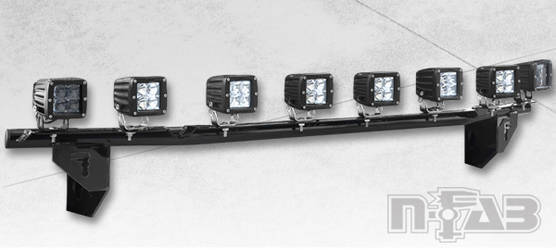 N-FAB Light Bar (LED or Halogen)