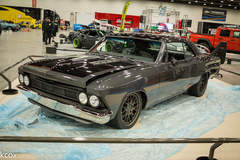 LaVine Restorations '66 Chevrolet Chevelle on Forgeline DE3C Wheels