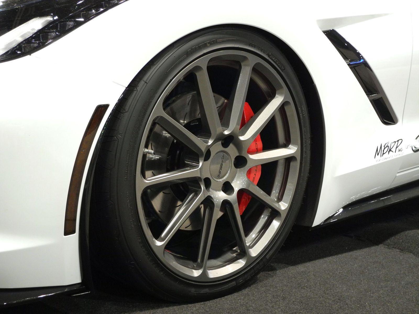 2014 Chevrolet Corvette Stingray | MBRP C7 Corvette on Forgeline RB1 Wheels