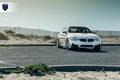 BMW M4 - White Front Photo