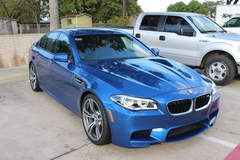 BMW M5 with XPEL ULTIMATE