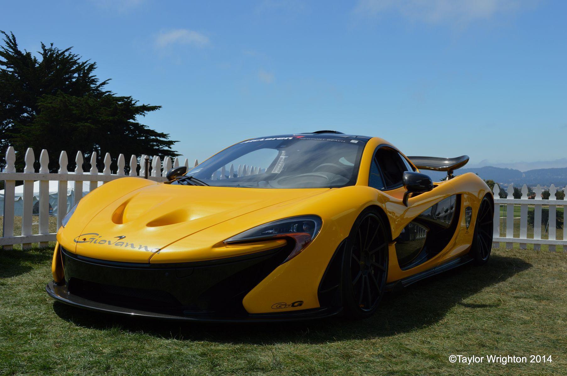 McLaren P1   P1