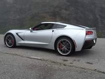 Bob Hardt's C7 Corvette Stingray Z51 on Forgeline VX3C Wheels