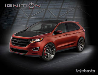 2015 Ford Edge | 2015 Ford Edge by Webasto Rendering