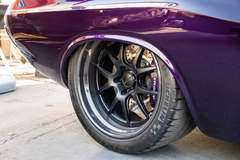 """JRB Customs """"Punisher"""" 1971 Plymouth Challenger on Forgeline GA3R Wheels"""