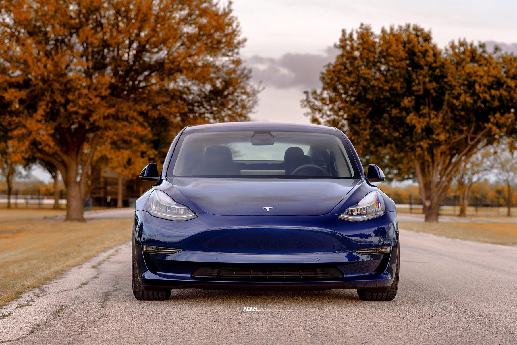 2018 Tesla    Tesla Model 3 - ADV.1 ADV5.0 M.V2 CS Series Wheels