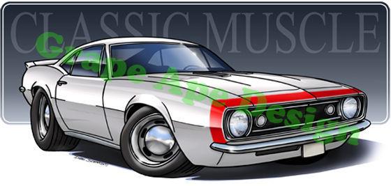 1967 Chevrolet Camaro | Chevy Camaro classic art design