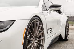 "BMW i8 on 22"" Avant Garde's - Fitment"
