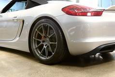 BBi Autosport StreetCup Porsche Boxster Spyder on Forgeline One Piece Forged Monoblock GA1R Wheels