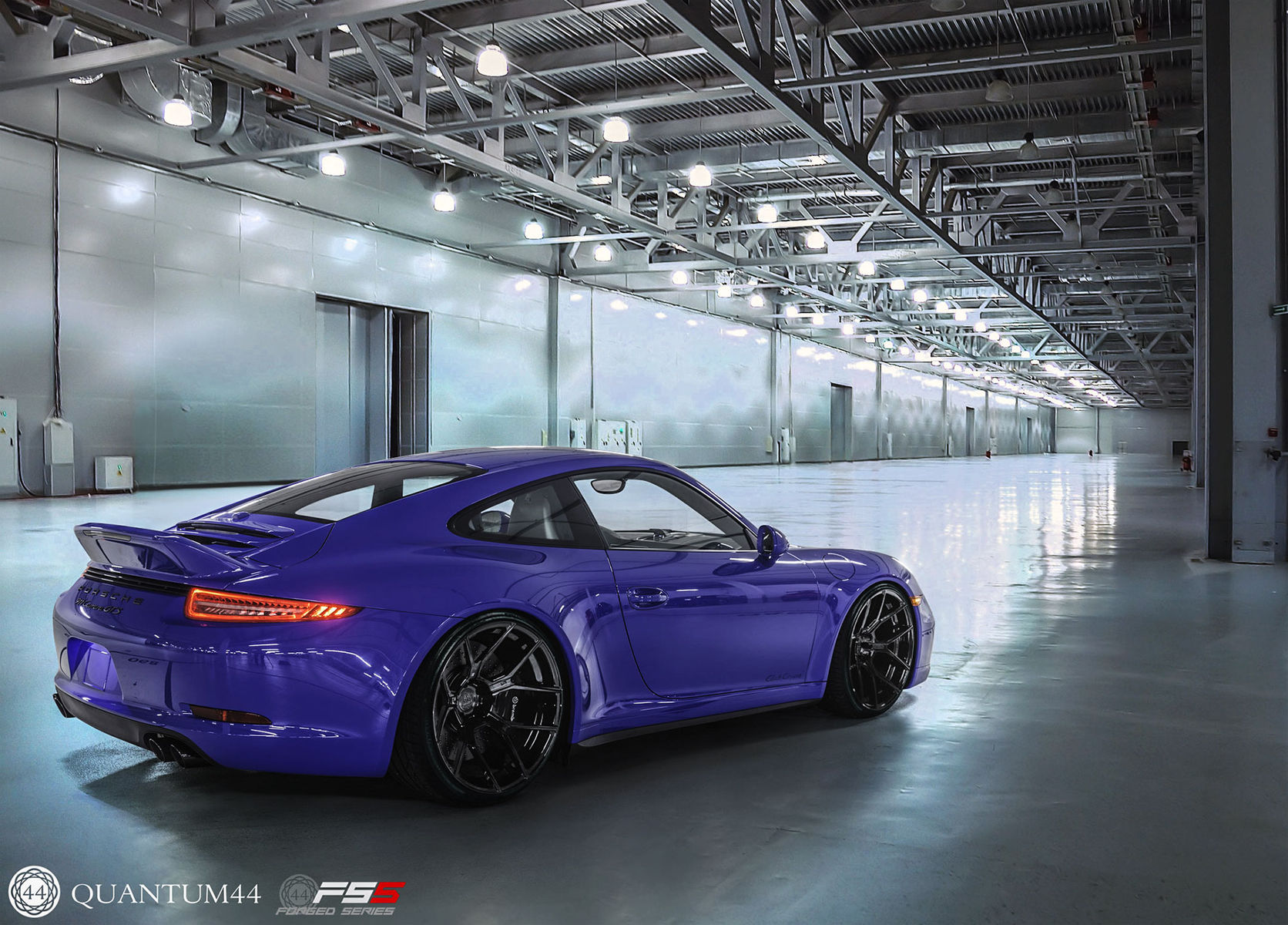 Porsche 911   Porsche 911 - Quantum44 FS5 Glass Black