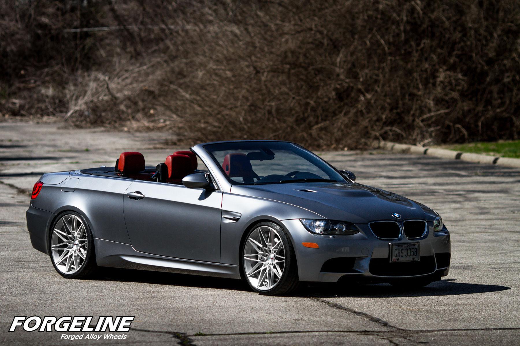 2011 BMW M3 | Sherri Schardt's BMW E92 M3 Convertible on Forgeline One Piece Forged Monoblock MT1 Wheels