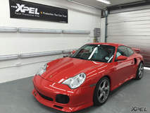 Porsche 911 protected with XPEL ULTIMATE