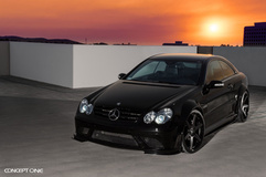 2007 Mercedes-Benz CLK63 AMG on Concept One CS6.0's
