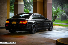 '13 BMW 750Li on XO Milan's