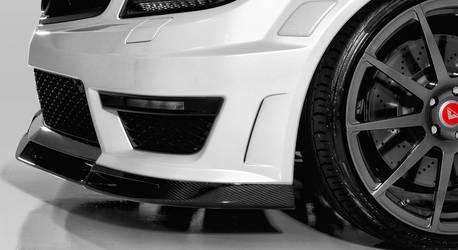 C63 AMG Front Spoiler