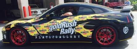 Pennzoil Pennzilla Nissan GT-R on Forgeline One Piece Forged Monoblock GA1R Wheels