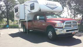 Ram with Camper & FT47 Fuelbox