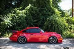 Dave Schardt's 1991 Porsche 911 Turbo on Forgeline SO3P Wheels