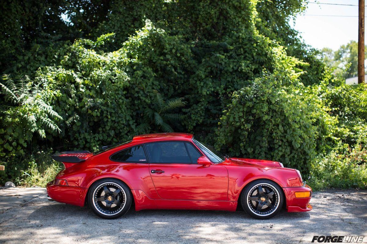 1991 Porsche 911 | Dave Schardt's 1991 Porsche 911 Turbo on Forgeline SO3P Wheels