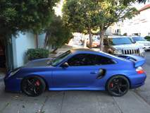 Porsche 911 Turbo Matte Blue