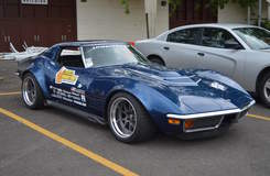 Danny Popp Wins 2017 Goodguys PPG Nationals Sponsor Shootout with '72 Corvette on Forgeline GA3R Wheels