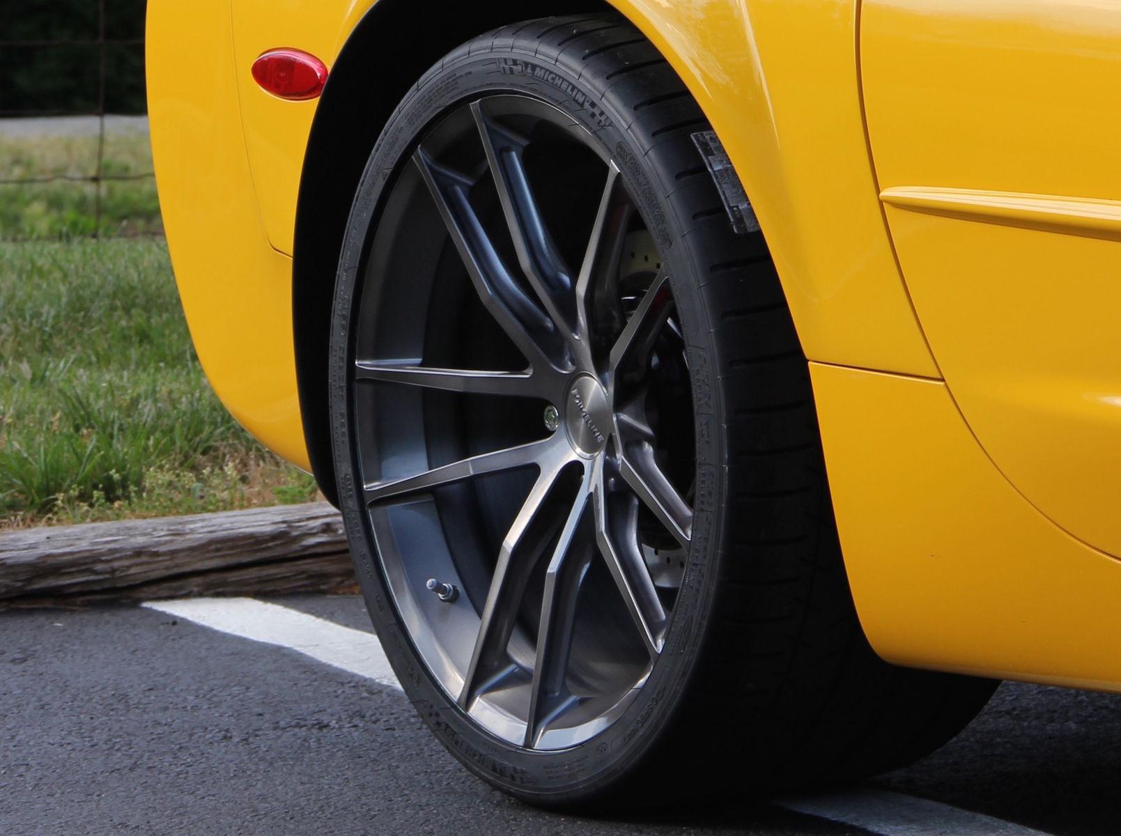 2004 Chevrolet Corvette | Jerry D's Supercharged C5 Corvette by Zip Corvette Parts on Forgeline One Piece Forged Monoblock AR1 Wheels