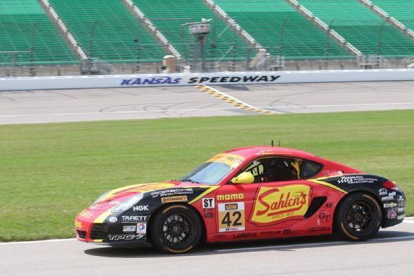 2014 Porsche Cayman | Sahlen's #42 Porsche Cayman on Forgeline GA3R Wheels 2nd at Kansas