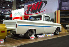 James Otto's C-10 Truck on Forgeline RB3C Wheels - Side Angled Shot