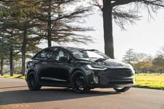 """Tesla Model X P100D on 22"""" Avant Garde M615 Wheels - Front End"""