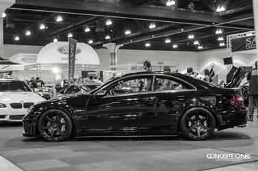 2013 Mercedes-Benz C63 AMG | '13 Mercedes C63 AMG @ Dub Show - Side Profile