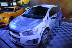 Chevy Sonic Rally Car @ SEMA '13
