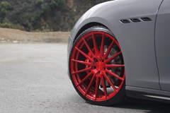 "Maserati Ghibli Q4 on 22"" Avant Garde M615 Wheels - Driver Side Front Wheel"
