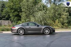 Charcoal Porsche 911 Carrera - Side Profile
