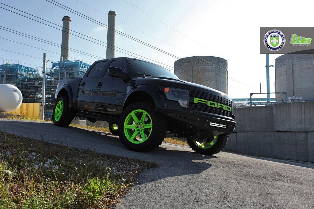 Ford F-150 | Ford Raptor on HRE TR46