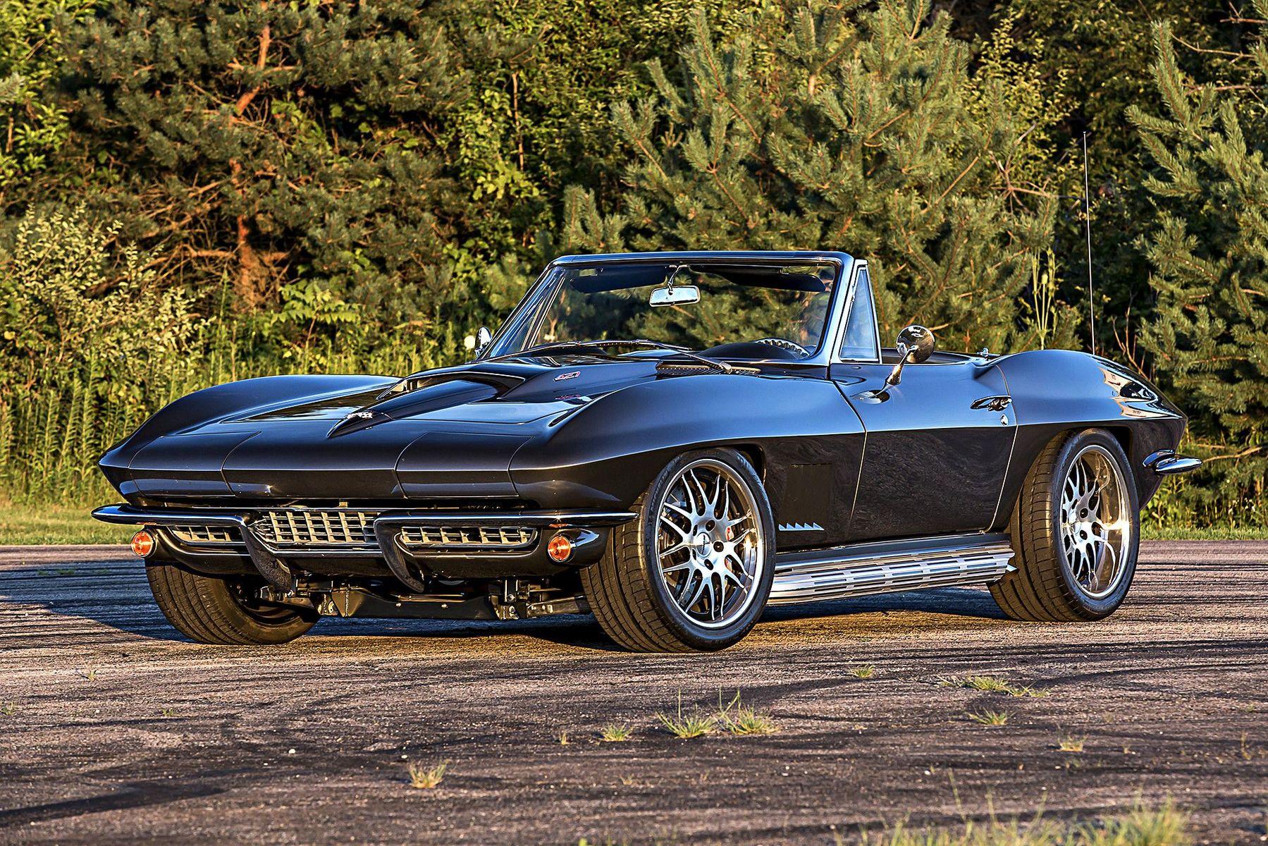 1967 Chevrolet Corvette | Steve's Schwartz Performance-Built '67 Corvette on Forgeline DE3P Wheels