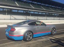 Petty's Garage Debuts 80th Tribute Edition Mustang on Forgeline SC3C-SL Wheels at the Mustang Club of America 40th Anniversary Celebration